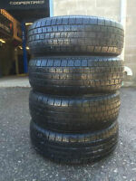 4- P215/60/16 Hercules MRX Plus tires - SALE installed, no tax