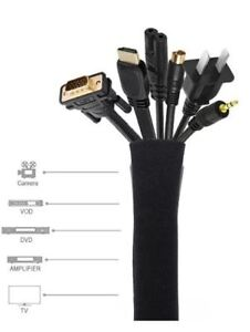 Cable Management Sleeve, Cord Management System Cable Wrap Cover
