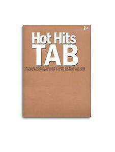 HOT-HITS-GUITAR-TAB-SONG-BOOK-20-HITS-50-OFF-CLEARANCE