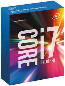 Intel I7 6700k Neuf Jamais Ouvert