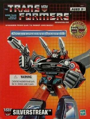 NEW SEALED - TRANSFORMERS G1 GENERATION 1 - SILVERSTREAK BLUESTREAK TRU REISSUE!