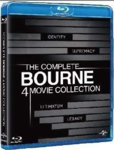 The Bourne Collection 4 Film Blu-Ray