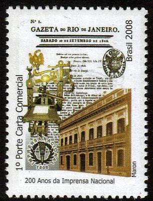 BRAZIL MNH 2008  National Press