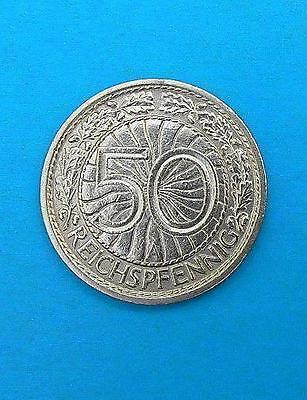 WEIMARER REPUBLIK 50 REICHSPFENNIG 1929 A