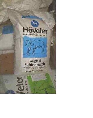 Trocken Milch Pulver (Höveler Fohlenmilch Fohlenstarter 25kg 3,99€/kg Trockenmilch Trockenpulver)