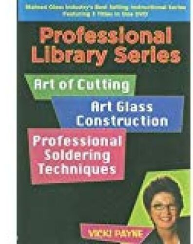 GLASS WITH VICKI PAYNE PROFESSIONAL SERIES INSTRUCTIONAL DVD 3 TITLES