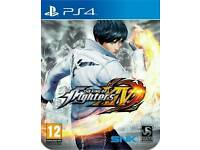 King of Fighters XIV 14 Steelbook edition PS4