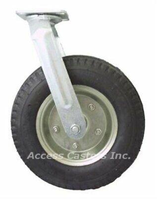 12dpnts 12 Swivel Caster Pneumatic Wheel 500 Lbs Capacity Ball Bearings
