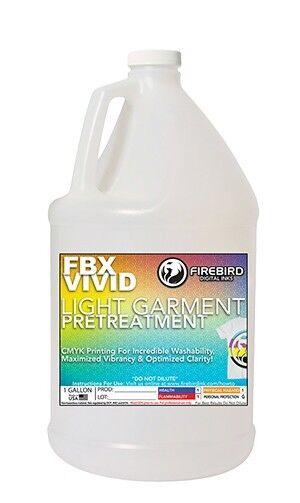 1 Gallon FIREBIRD FBX-VIVID Light Garment DTG Pretreatment