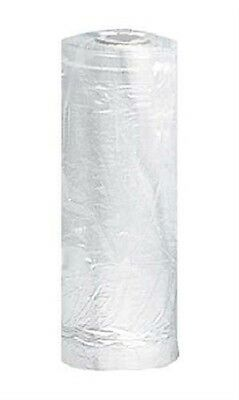 243 Clear Plastic Garment Bags Clothing 21 W X 3 D X 72 H Roll Hanger Opening