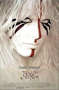 """WANTED;""""CLAN OF THE CAVE BEAR"""" MOVIE POSTER/1986/DARYL HANNAH"""