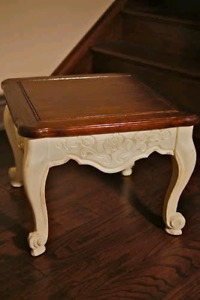 Small refinished end table