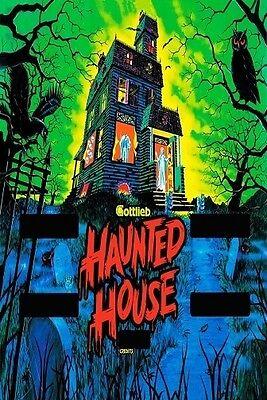 1980s GOTTLIEB Haunted House pinball machine screen art replica magnet - new!