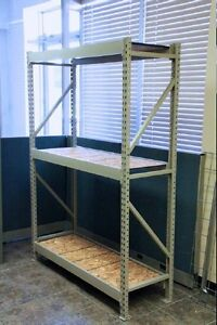 USED INDUSTRIAL SHELVING UNITS. 50% OFF NEW. EXCELLENT CONDITION Kitchener / Waterloo Kitchener Area image 10