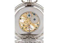 A.E. Williams Rampant Lion Mechanical Pocket Watch