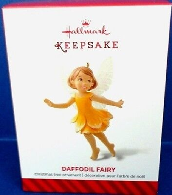 Daffodil Ornament - 2014 Daffodil Fairy Hallmark Series Ornament