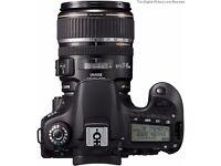 Canon EOS 60D 18.0 MP DSLR Camera - 1080p + Canon EF-S - 17-85mm - F/4.0-5.6 IS USM