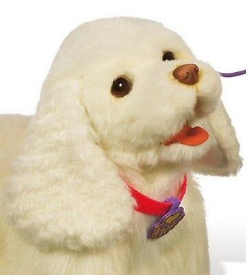 ★ Hasbro Furreal Friends, Fur Real Friends Laufende Gogo Hund Weiß 94371148  (Gogo Hund Spielzeug)