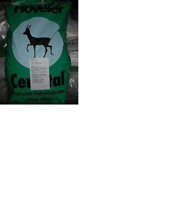 Höveler Cervital Rot u Rehwildfutter Wildfutter Rehfutter Rotwildfutter 25kg 0,6