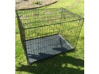 Large dog cage and pen!