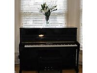 Steinmayer S110 2010 Black Polished with stool *excellent condition*