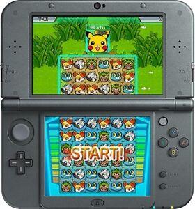 NEW 3DS XL, BLACK * newest model * THE POKEMON BUNDLE, 16 GAMES, 3 YEAR WARRANTY