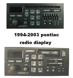 Pontiac Radio Display Repair Stratford Kitchener Area image 2