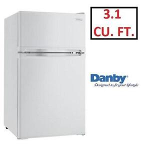 NEW* DANBY DESIGNER COMPACT FRIDGE - 123218639 - 3.1 CU FT REFRIGERATOR - HOME KITCHEN APPLIANCE