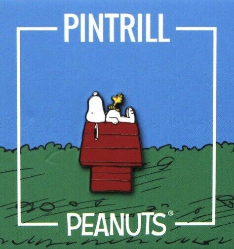 Peanuts | Snoopy and Woodstock House Pin
