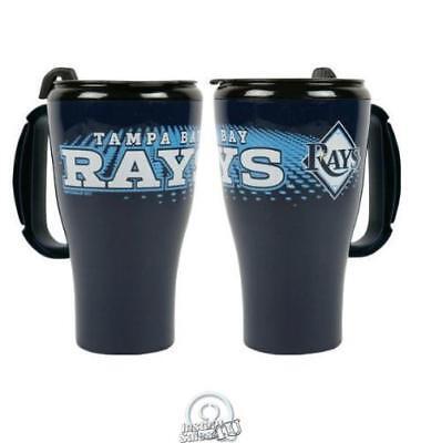 Baseball Plastic Cups (MLB Baseball Tampa Bay Devil Rays 16 Oz Roadster Plastic Tumbler Coffee Mug)