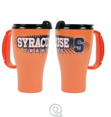16 Ounce Plastic Lid - Syracuse Orangemen 16 Ounce Roadster Plastic Travel Tumbler Mug Coffee Cup+Lid