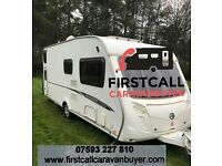 TOURING CARAVANS WANTED FOR IMMEDIATE CASH