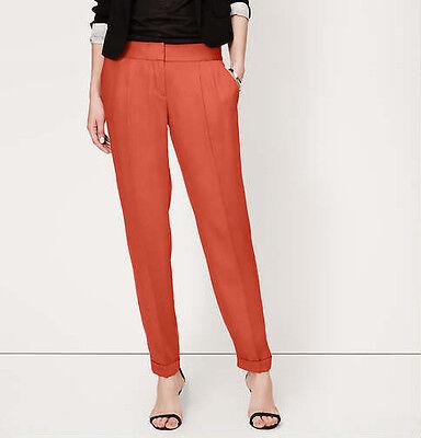 Tencel-twill (Ann Taylor LOFT Fluid Tencel Twill Ankle Pants in Marisa Fit Size 8, 12, 14 NWT)