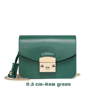 NEW Furla Inspired Mini Bags - Emerald Green / Nude / Black