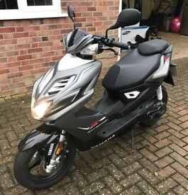 Yamaha Aerox R (NS50) 50cc Scooter for Sale - 63 Reg- 12k Miles.