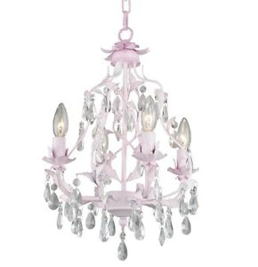 5 New Pink CHANDELIERS  .Nursery & Kids.....For your princess...