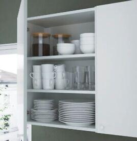 ENHET Wall cb w 2 shelves, white, 60x30x75 cm WAS £27 IKEA Edinburgh #circularhub