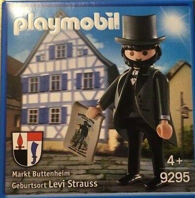 Playmobil Levi Strauss 9295 Neu & OVP Markt Buttenheim Sonderfigur Promo