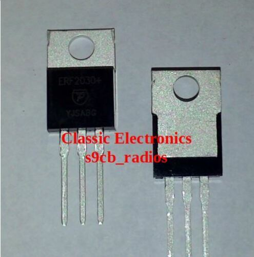 Palomar EKL ERF2030+ MOSFET RF Power Transistor Sub For IRF520/FQP13N10 & Others