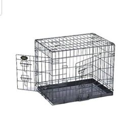 Dog and puppy crate