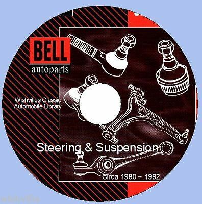 Information Bell Steering &  Suspension components circa 1980 ~ 1992 DVD ROM