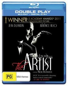 THE ARTIST Blu Ray (2012) Region B BRAND NEW & SEALED!