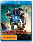 Iron Man 3 Steelbook M Rated DVDs & Blu-ray Discs