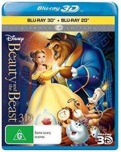 Beauty & and the beast (blu ray) 3D/2D New or Used Port Pirie Port Pirie City Preview