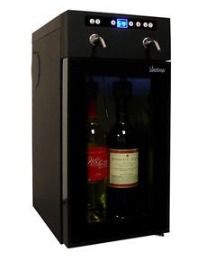 Never used VINOTEMP 2 wine cooler dispenser
