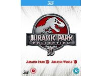 Jurassic park & jurassic world 3D