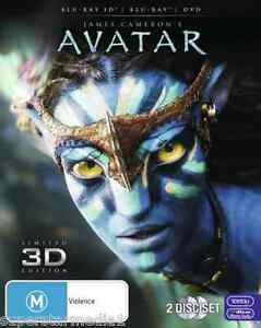 Avatar (3D Blu-ray/Blu-ray/DVD) = NEW Blu-Ray