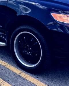 5x114 rims and Michelin Tires.60%