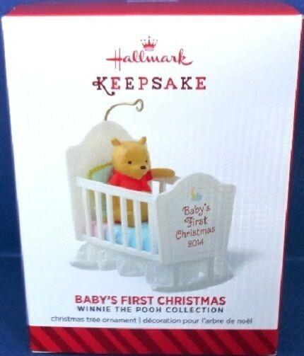 2014 Baby S First Christmas Winnie The Pooh Hallmark