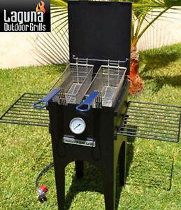 Laguna grills fantastic fish fryer propane five gallon for Outdoor fish fryers propane